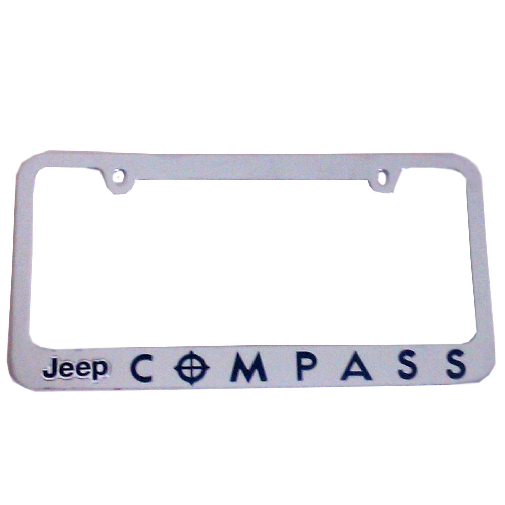 officially licensed 3d logo letter zinc chrome license plate frame. Cars Review. Best American Auto & Cars Review