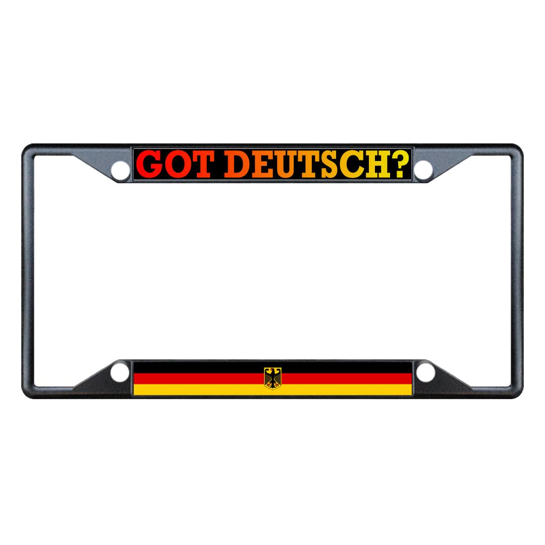 framed deutsch